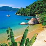 Bathing bay near Parati, Costa Verde, Rio de Janeiro, Brasil